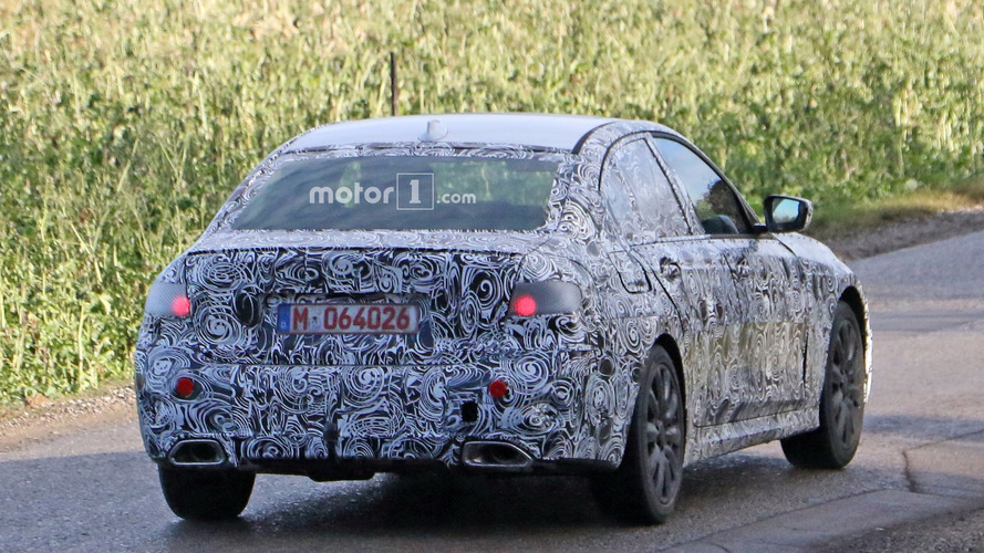 2018 bmw sport. interesting 2018 2018 bmw 3 series m sport spy photo in bmw sport