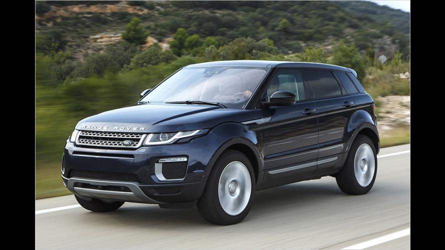 Gelifteter Range Rover Evoque mit neuem Ingenium-Diesel im Test