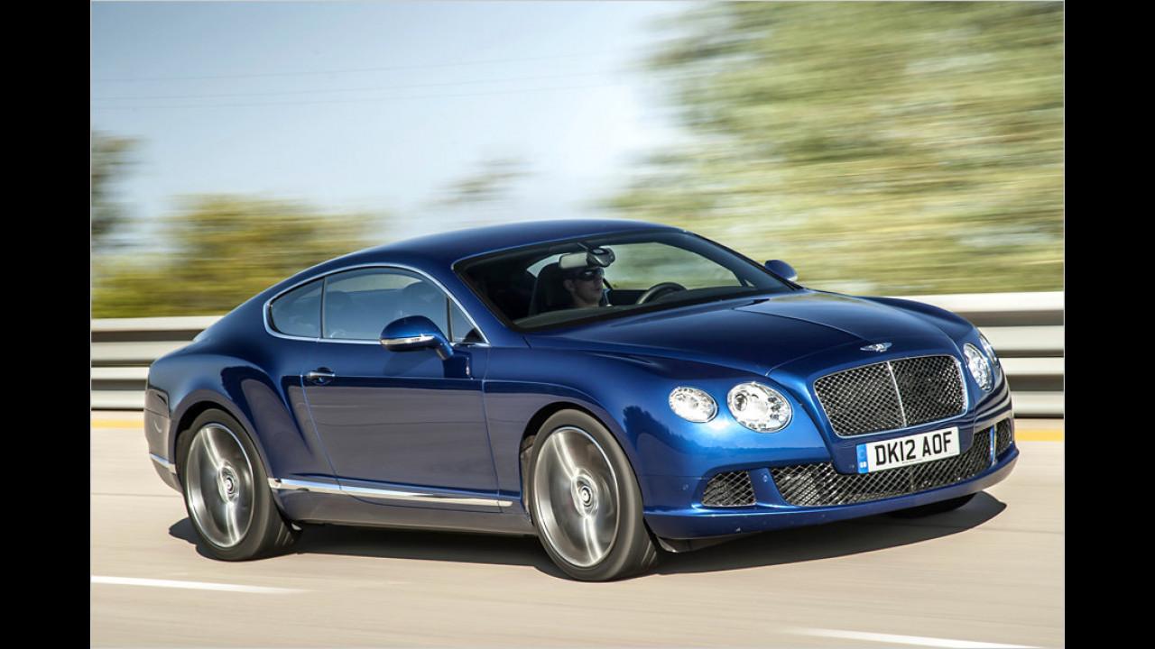 Bentley Continental GT Speed W12: 635 PS