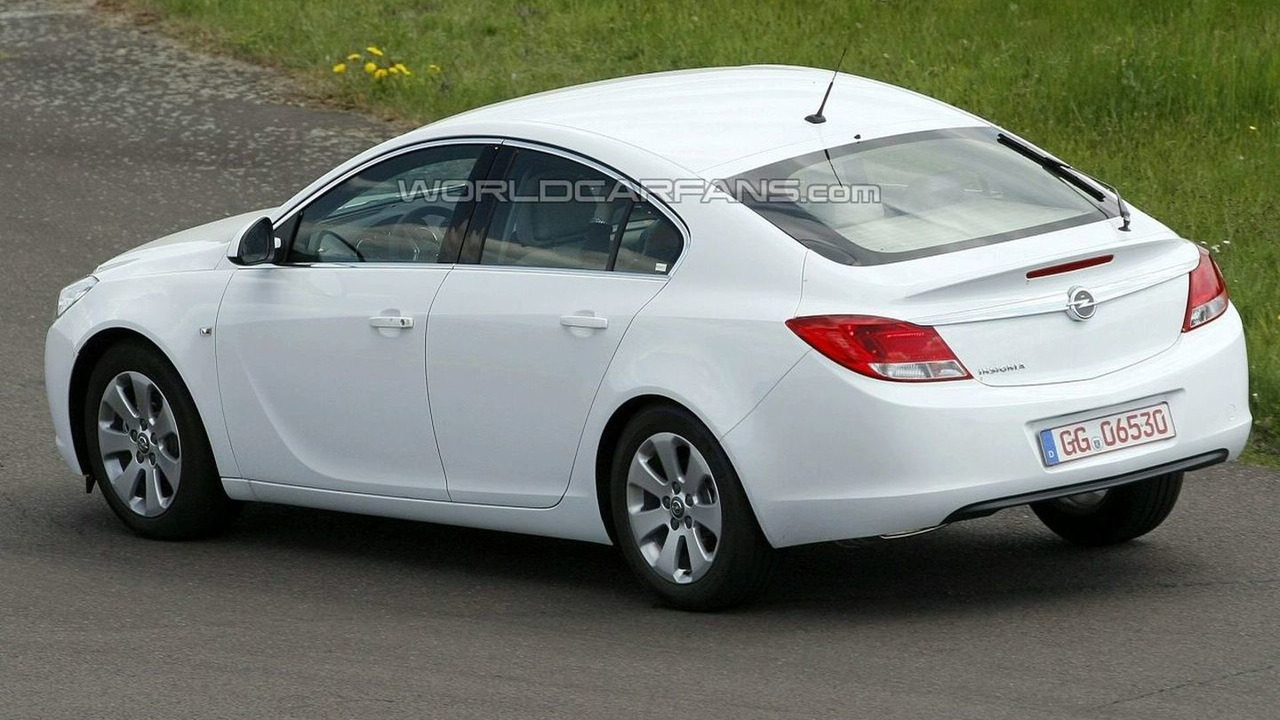 Opel Insignia Hatchback Spy Photo