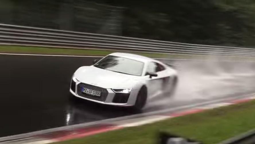 VIDÉO - Grosse frayeur pour une Audi R8 sur le Nürburgring