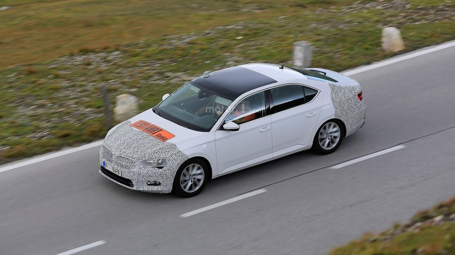 Skoda already cooking up Superb facelift?