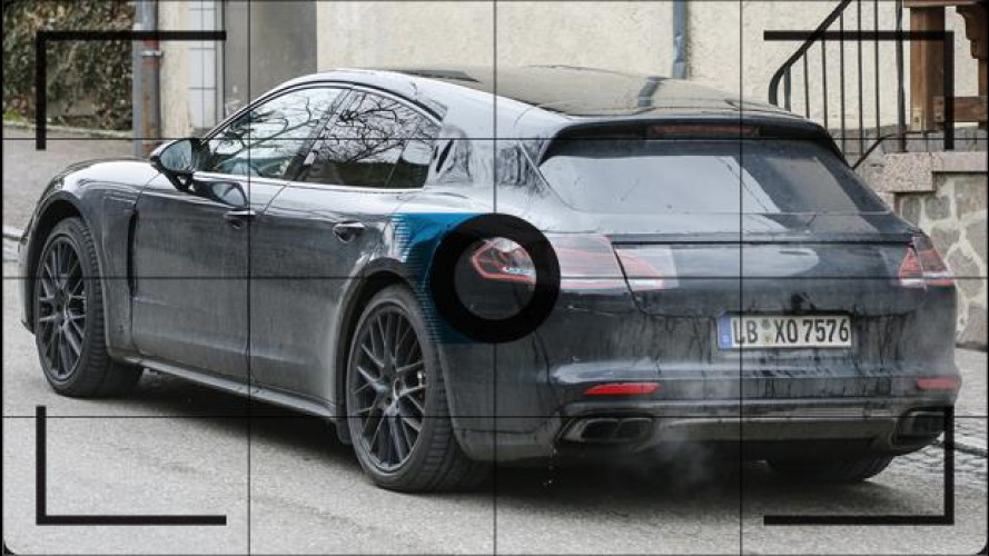 Porsche Panamera Shooting Brake, le foto spia