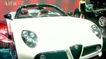 See Alfa Romeo 8C Spider Being Presented in Geneva