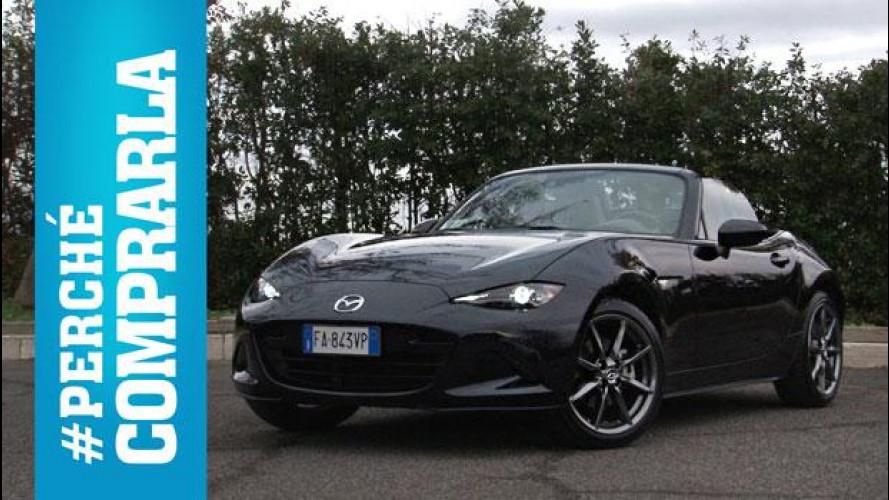 Mazda MX-5, perché comprarla... e perché no [VIDEO]
