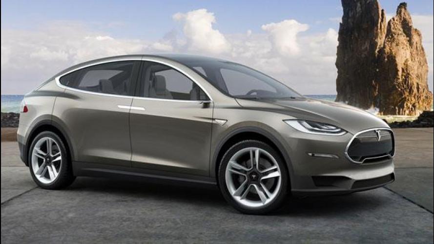 Tesla Model X, a fine mese le prime consegne