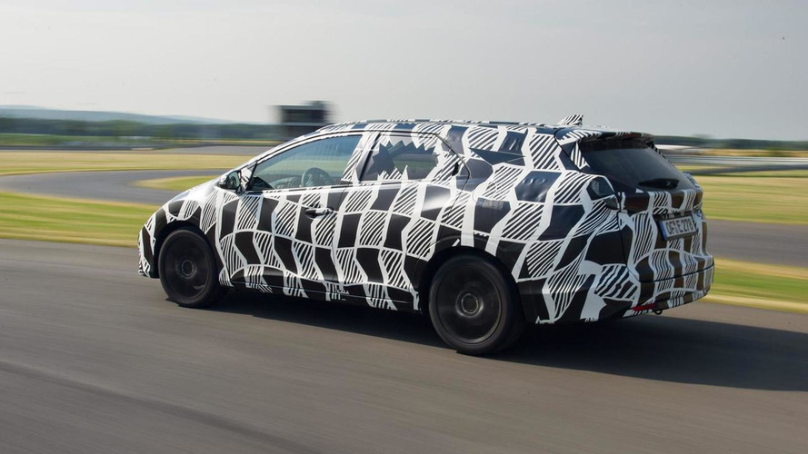 Honda releases photos and video with camouflaged Civic Tourer featuring rear adaptive damper system