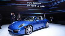2014 Porsche 911 Targa live at 2014 NAIAS