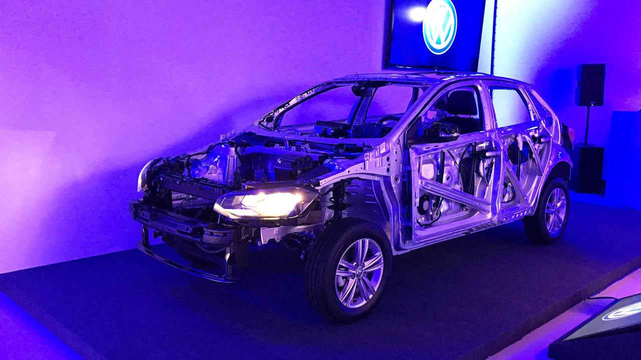 VW Polo estrutura