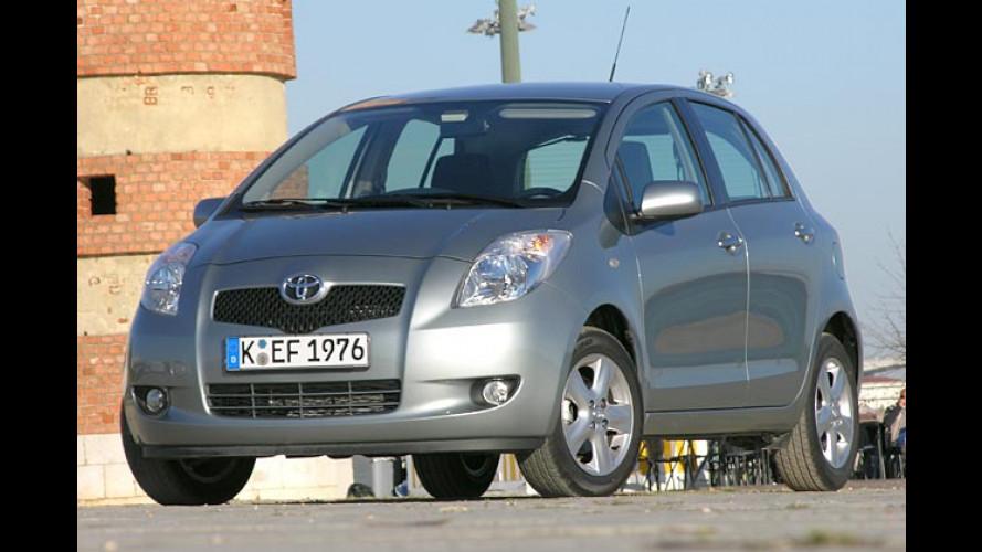Kurz und gut: Die zweite Generation des Toyota Yaris im Test