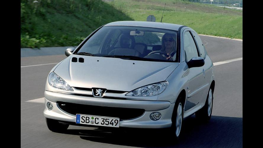 Diesel-Partikelfilter jetzt auch im Peugeot 206 zu haben