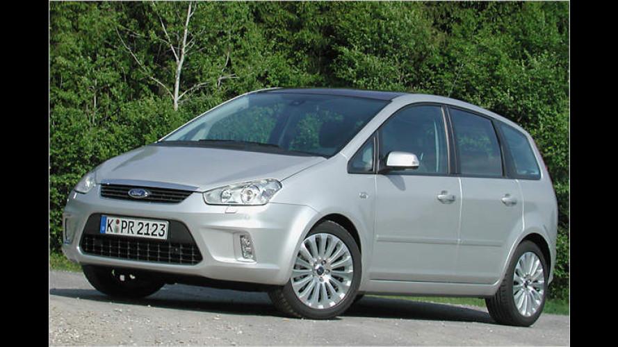 Facelift für den Focus-Van: Ford C-Max wird strammer