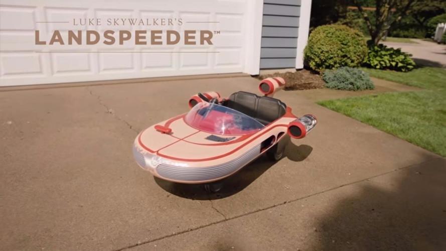 El Landspeeder de Star Wars a la venta