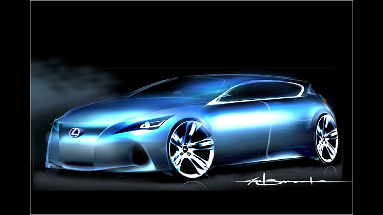 Lexus-Kompaktwagen