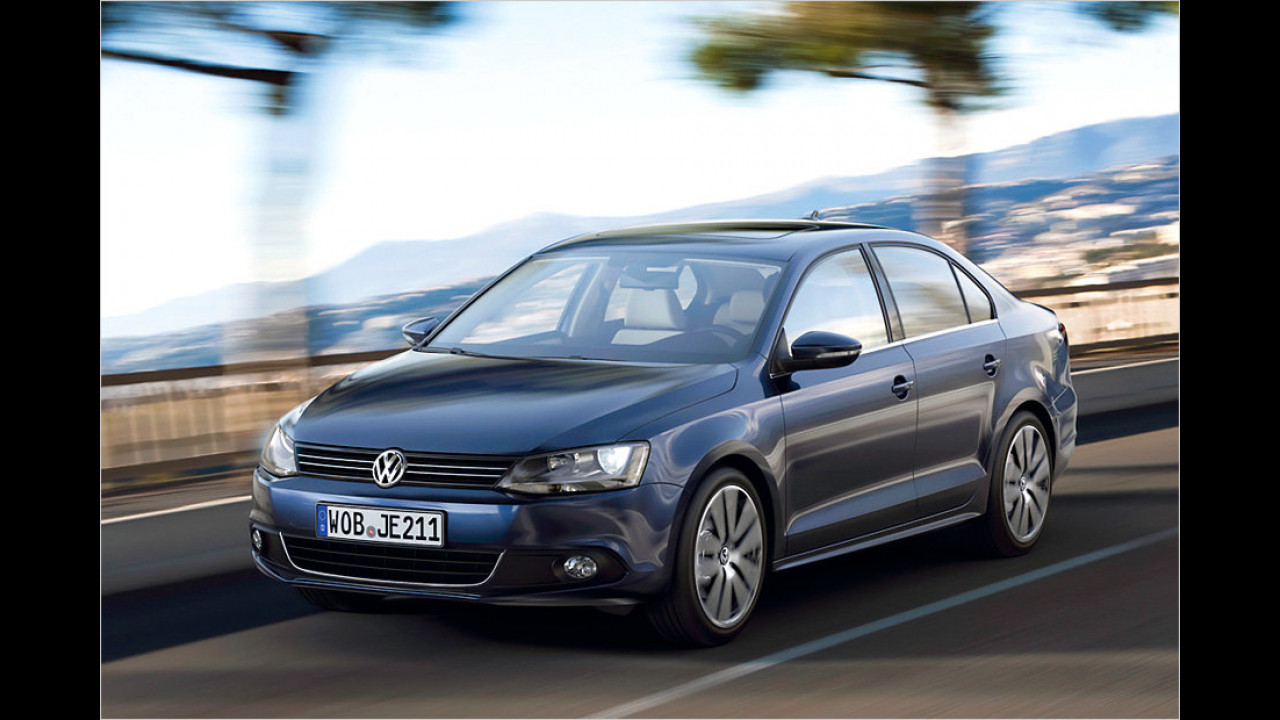 VW Jetta 1.6 TDI BlueMotion Technology
