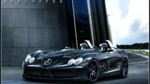 Mercedes SLR McLaren Speedster artist rendering