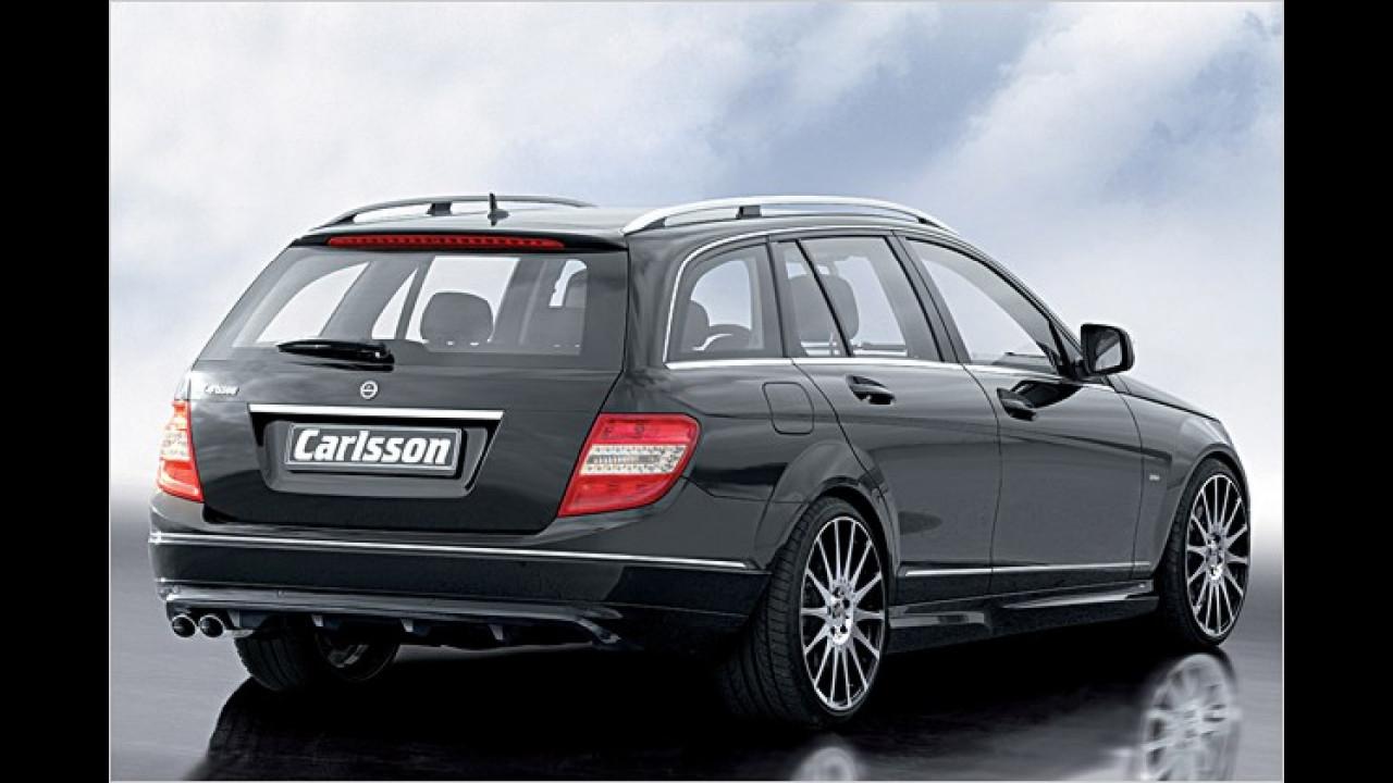 Nobles Aerokit und 45 Zusatz-PS: Mercedes-Tuner Carlsson präsentiert den C 320 CDI als T-Modell