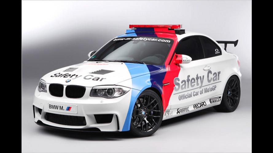 BMW 1er M Coupé als Safety Car in der MotoGP