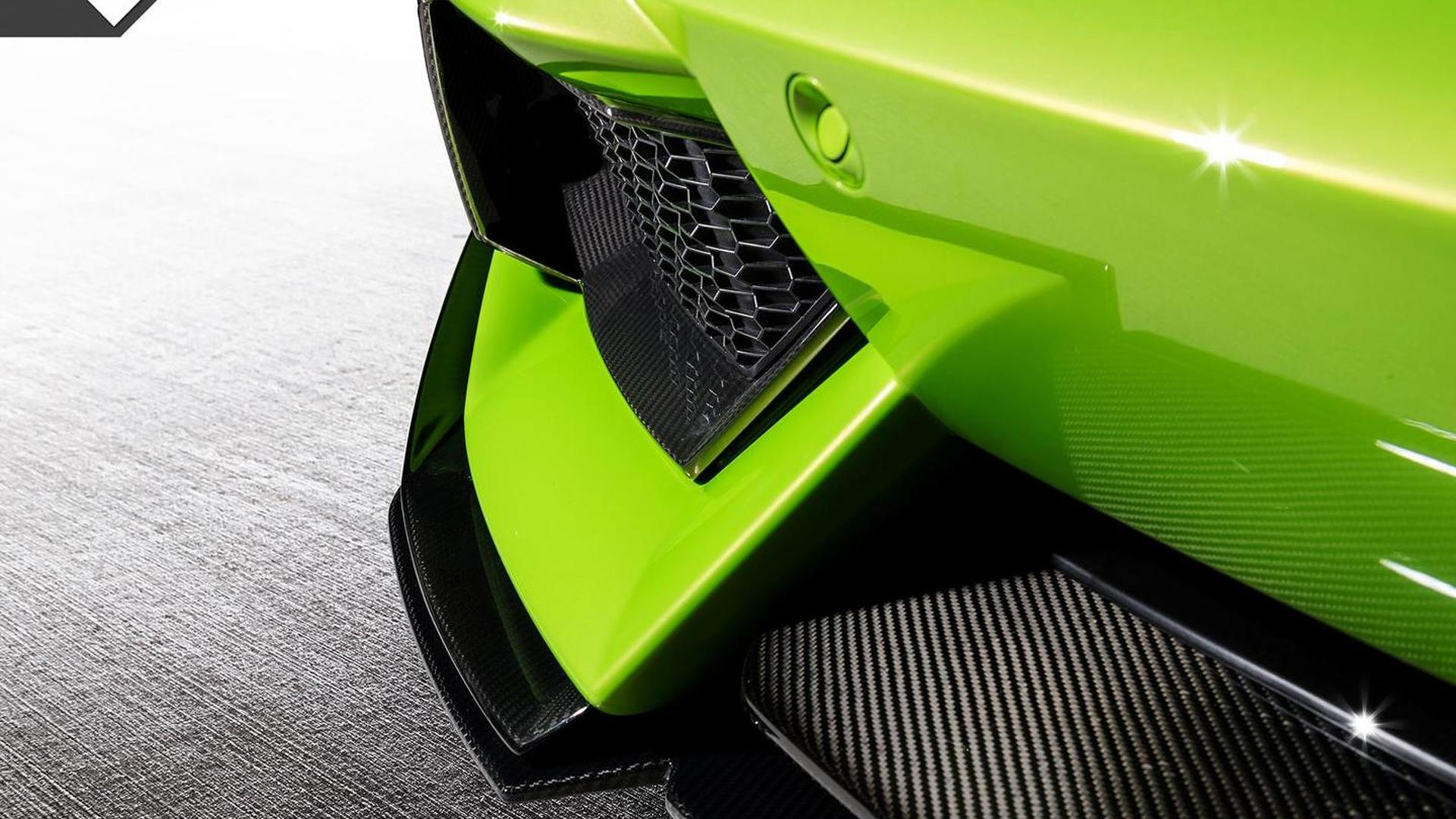 Апгрейд Lamborghini Aventador-V Roadster The Hulk от Vorsteiner