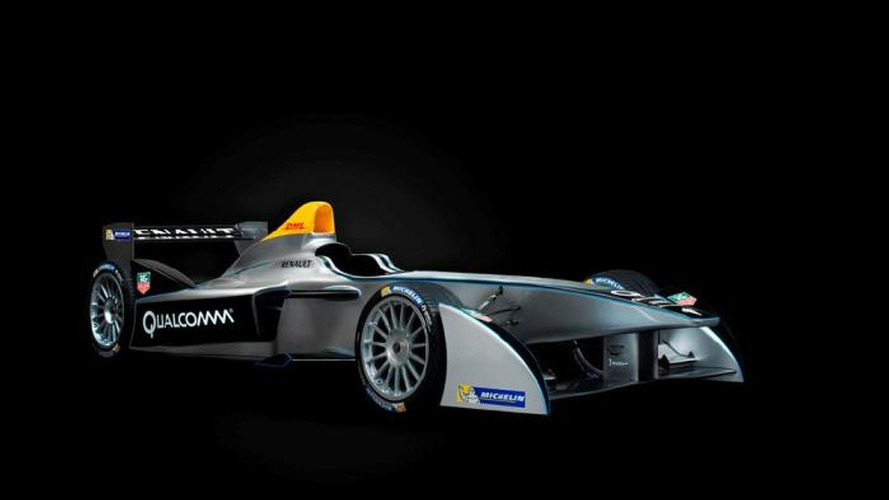 Spark-Renault SRT_01E Formula E race car unveiled in Frankfurt