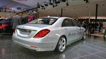 2014 Mercedes-Benz S500 Plug-In Hybrid live at 2013 Frankfurt Motor Show 10.09.2013