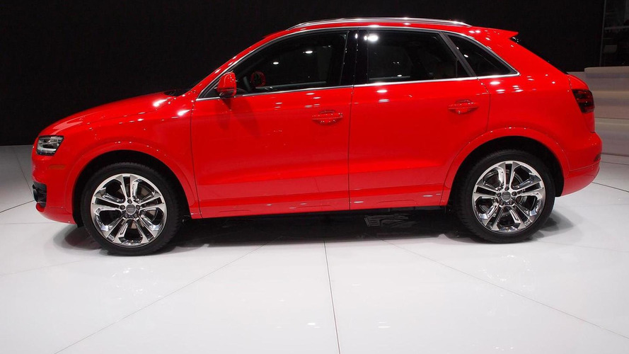 2015 Audi Q3 makes stateside debut in Detroit