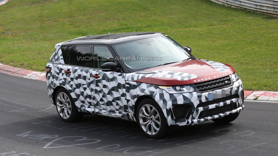 Range Rover Sport RS spied on the Nurburgring