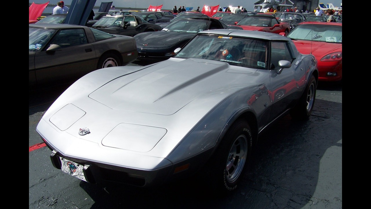 Chevrolet Corvette Silver Anniversary Edition
