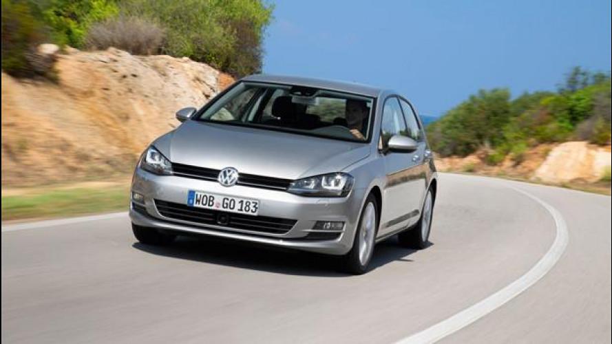 Nuova Volkswagen Golf 2.0 TDI Highline, la