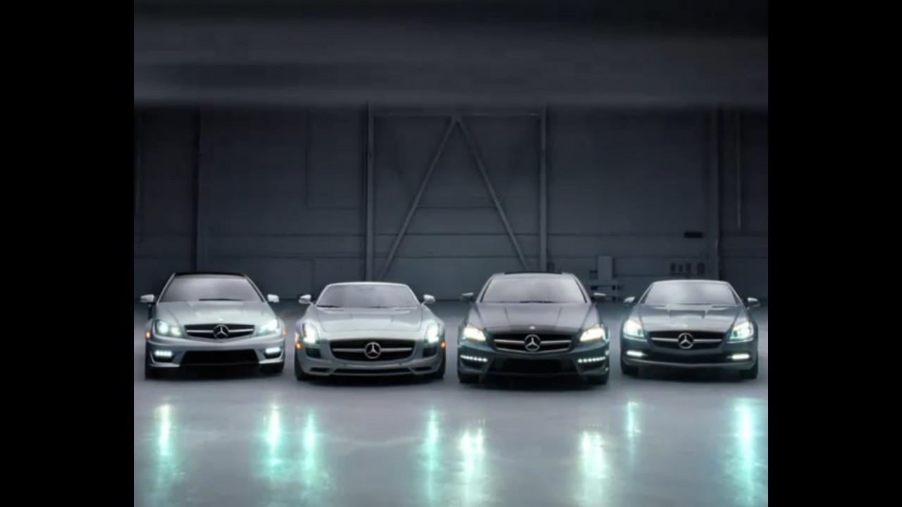 Mercedes-Benz Classe C Coupe e SLS Roadster