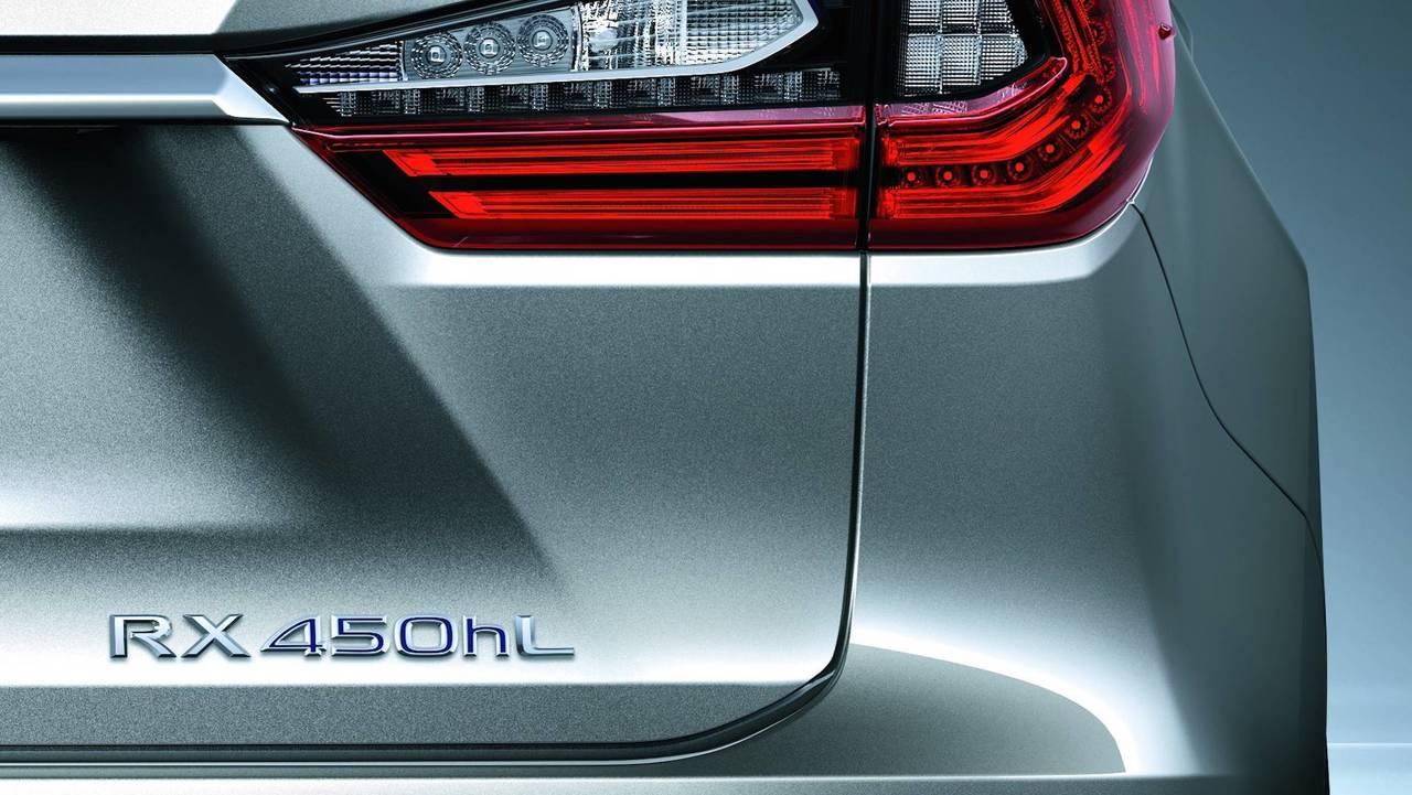 Lexus RX 450hL Teaser
