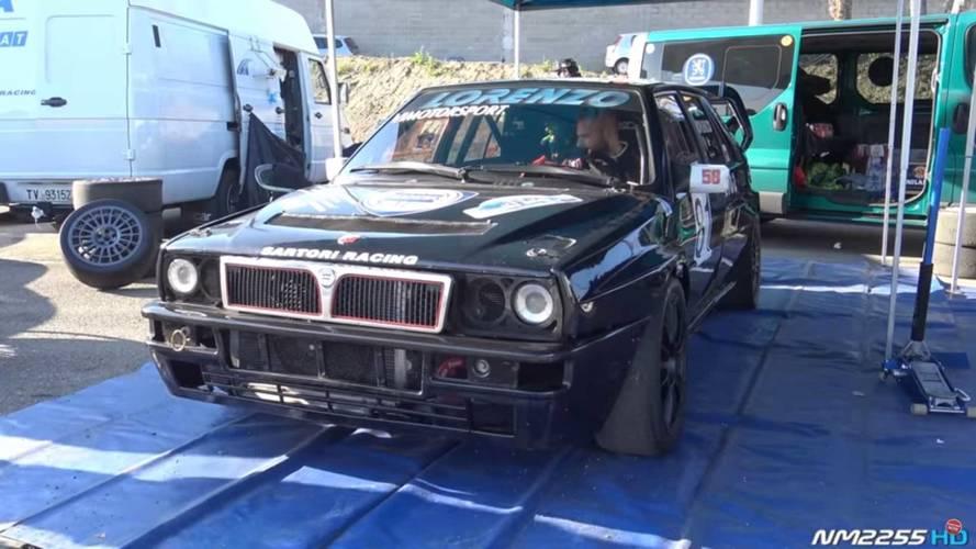 Así ruge este Lancia Delta HF Integrale Evo, con 500 CV de potencia