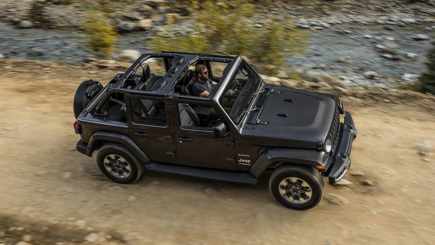 Jeep Wrangler Unlimited Soft Top >> 2018 Jeep Wrangler JL Will Start At $26,995