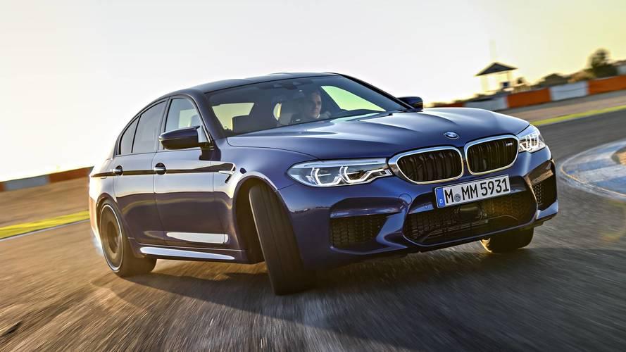 Hibrit BMW M5 üzerinde mi çalışılıyor?