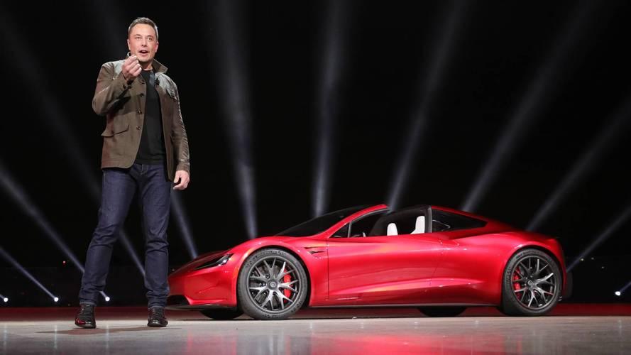 2020 Tesla Roadster demonstration by Elon Musk