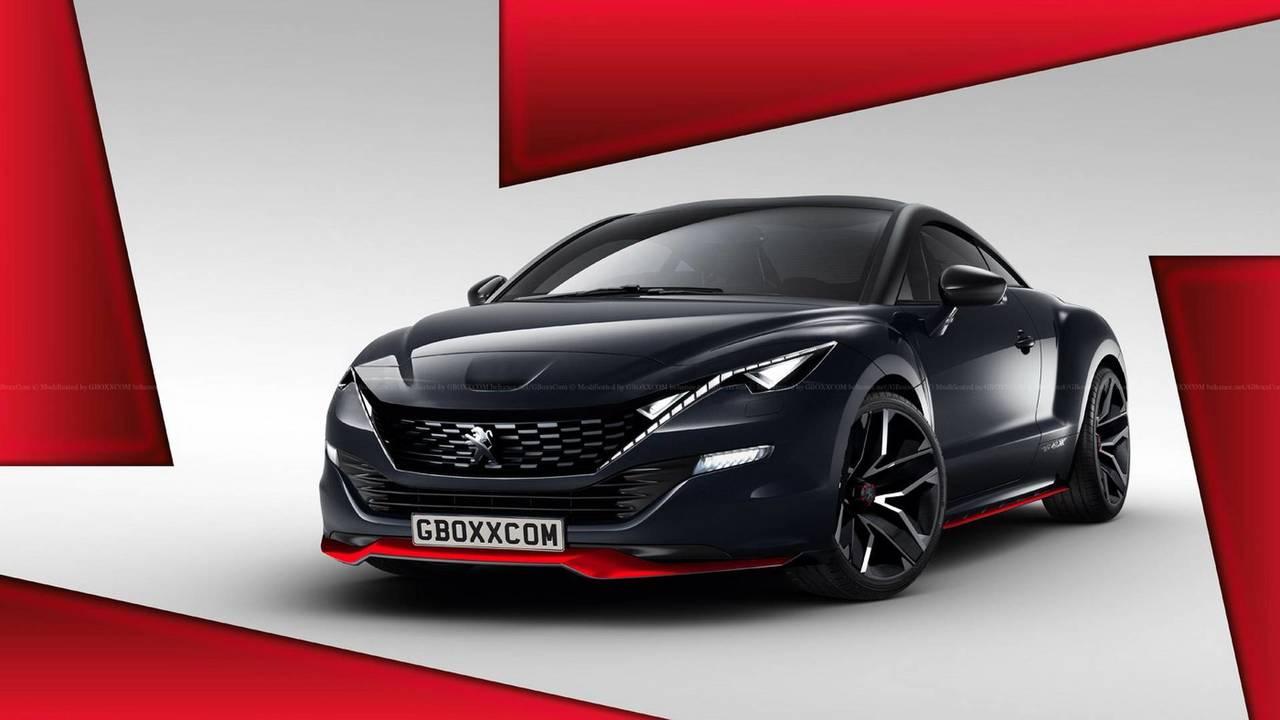 Peugeot RCZ render, segunda generación