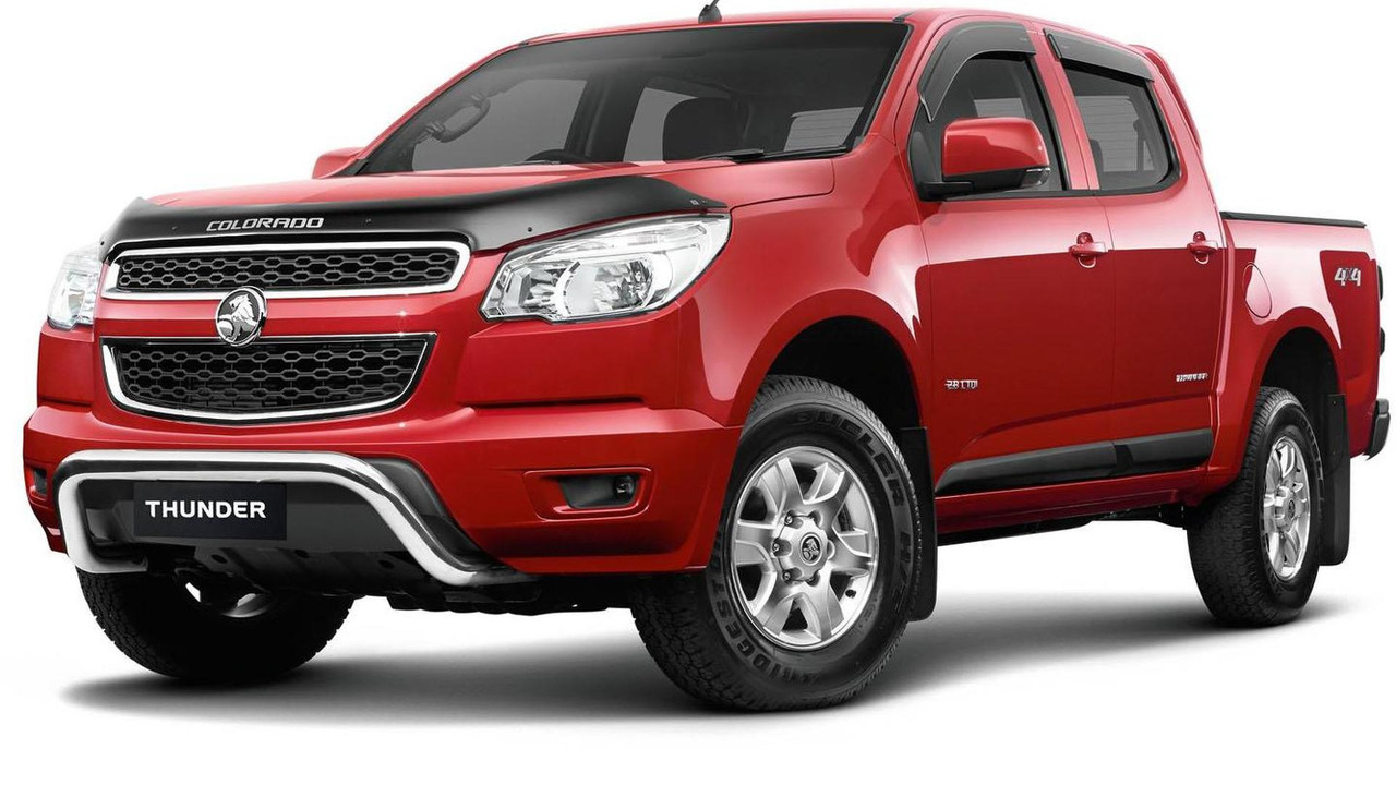 Holden Colorado Thunder Edition 06.6.2013
