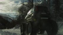 OFFICIAL: Fiat Panda Monster Truck means business [video]
