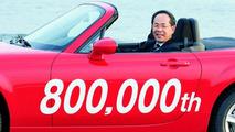 800,000th Mazda Roadster