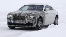 2017 Rolls-Royce Wraith facelift spy photo