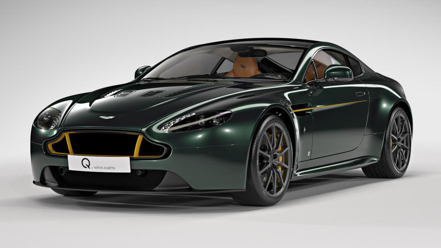 Aston Martin V12 Vantage S Spitfire 80 celebrates WWII fighter