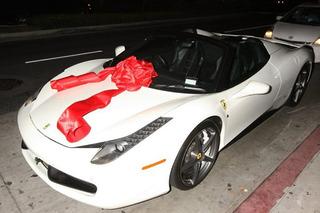 Kylie Jenner Tosses a Custom Paint Job on Her New Ferrari 458