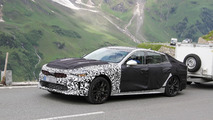 2017 Kia Stinger spy photos