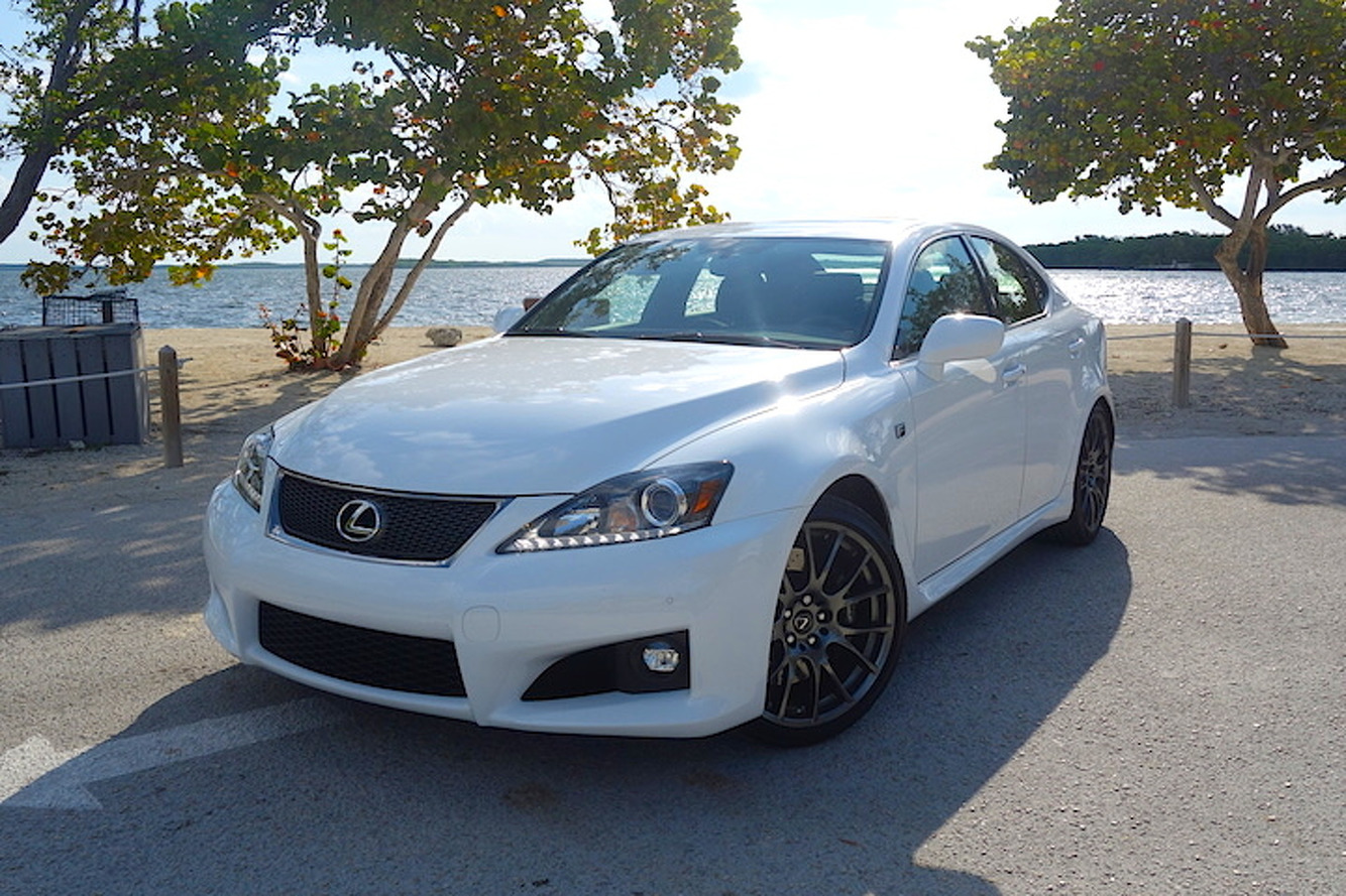 2014 Lexus IS F Review: Gone, But Not Soon Forgotten