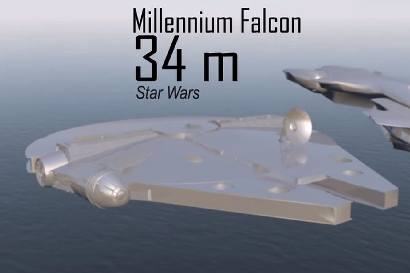 Compare the Sizes of Sci-Fi's Most Iconic Spaceships