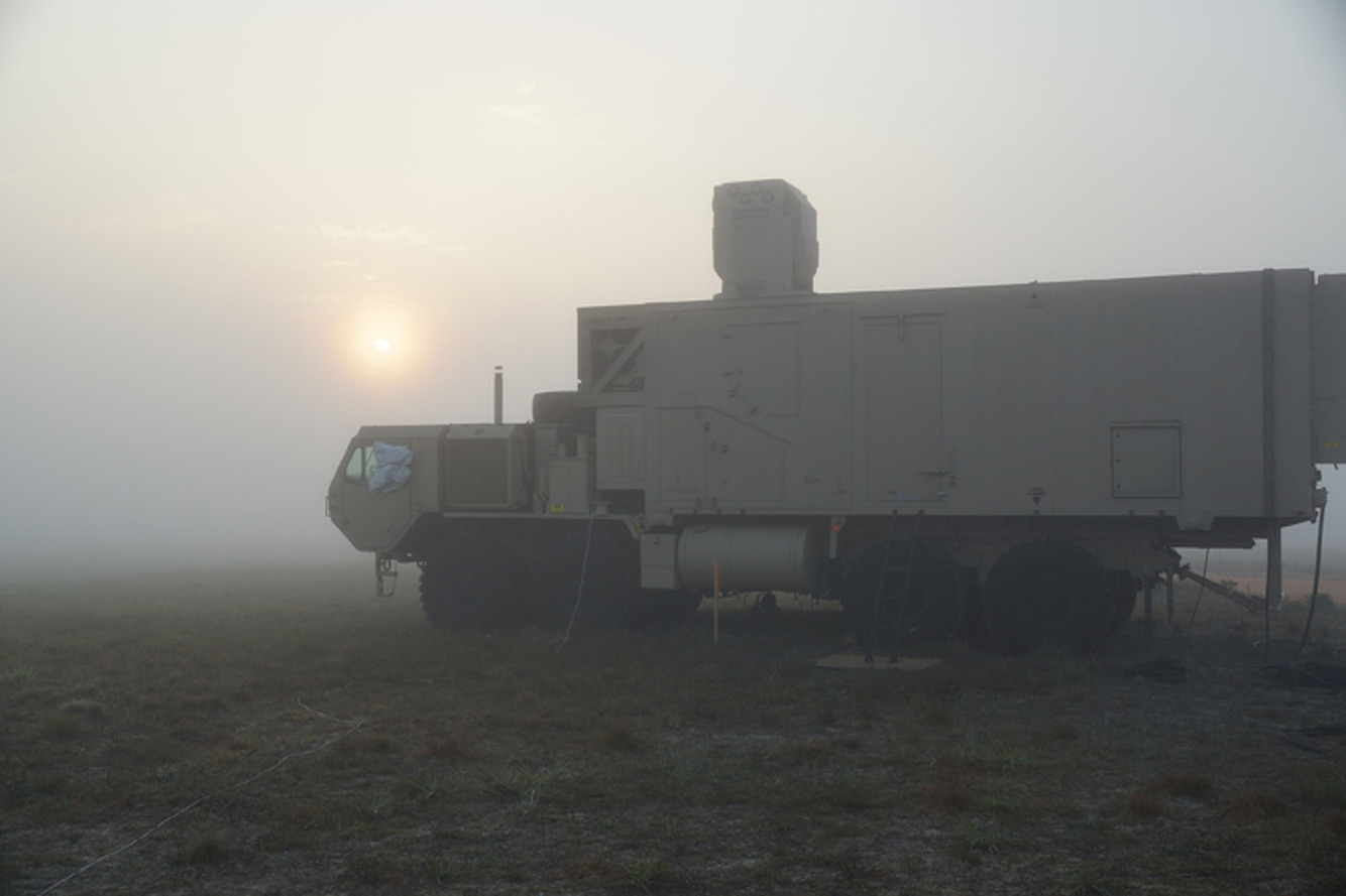 Boeing's New Laser Decimates Drones Even in Foggy Conditions