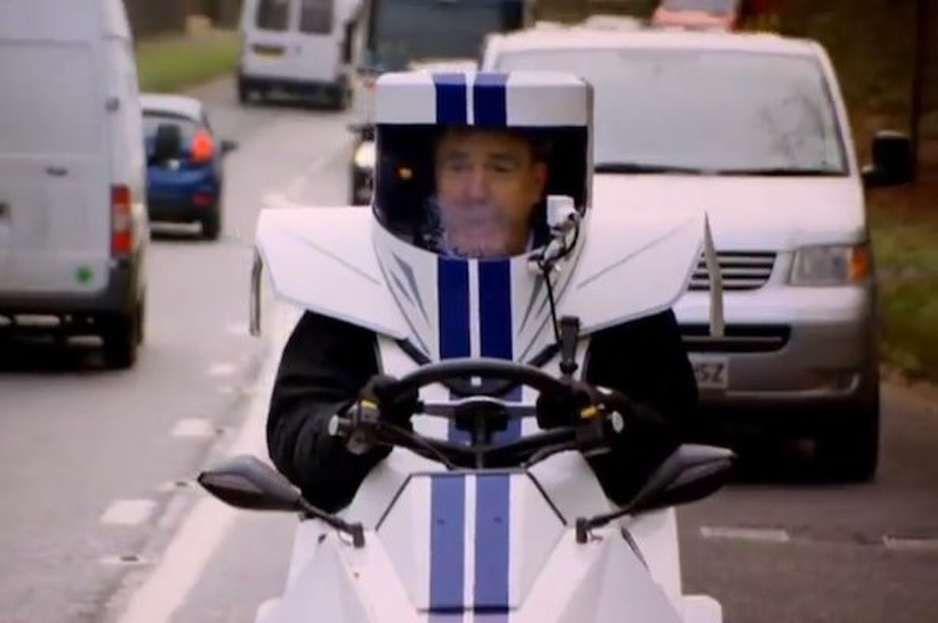 Video: Jeremy Clarkson Driving His P45 Hybrid Creation