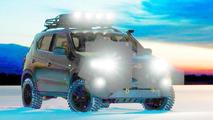 2014 Chevrolet Niva concept teaser (modified)