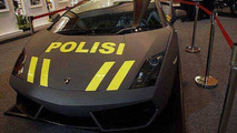 Lamborghini Aventador and Gallardo for the Indonesian Police
