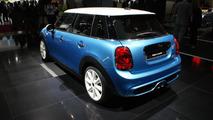 MINI five-door hatchback at 2014 Paris Motor Show